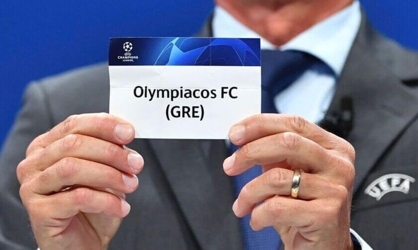 κλήρωση ομίλων Champions League